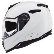 Capacete Nexx SX100 Core Edition White (Brilhante) C/ Viseira Solar