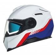 Capacete Nexx Vilitur Latitude Branco/Azul/Vermelho Multi-Composto