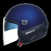 Capacete Nexx X70 Insignia Navy Blue - Tri-composto, Capacete Aberto