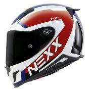Capacete Nexx XR2 Trion Tricolor Tri-Composto - Só XL - GANHE PINLOCK E VISEIRA FUMÊ