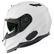 Capacete Nexx XT1 Branco Brilhante TriComposto - C/ Óculos Interno (Só 60)