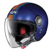 Capacete Nolan N21 Joie De Vivre Azul Cayman - C/ Viseira Solar Interna