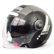 Capacete Nolan N21 Spheroid Flat Black/48 - C/ Viseira Solar Interna