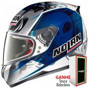 Capacete Nolan N64 Gemini Réplica Bastianini  (GANHE BALACLAVA NOLAN)
