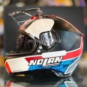 Capacete Nolan N87 Alex Rins (Réplica Oficial Piloto Suzuki) C/ Viseira Solar - Ganhe Touca Balaclava