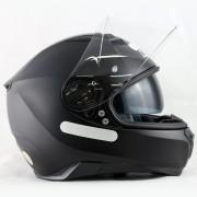 Capacete Nolan N87 Classic Flat Black C/ Viseira Solar - Ganhe Touca Balaclava