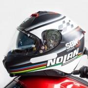 Capacete Nolan N87 SBK Flat Black C/ Viseira Solar - Ganhe Touca Balaclava