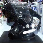 Capacete Nolan N91 Evo Special Metal Black Escamoteável  C/ Viseira Solar Interna - Ganhe Touca Balaclava
