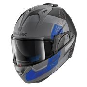 Capacete Shark Evo One V2 SLASHER MATT AKB Escamoteável (PRONTA ENTREGA)