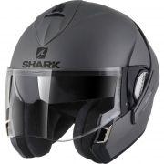 Capacete Shark Evoline S3 Blank Matt AMA Escamoteável