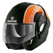 Capacete Shark Evoline Serie 3 Drop Matt KOK Escamoteável -