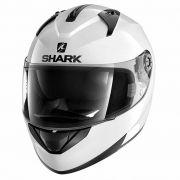 Capacete Shark Ridill Blank Branco C/ Viseira Solar (S700/S800)