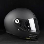 Capacete Shoei Glamster Preto Fosco Com Pinlock Anti-Embaçante