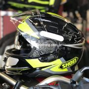 Capacete Shoei GT-Air 2 Affair TC-3 Amarelo Com Pinlock Anti-Embaçante