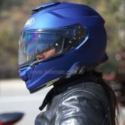 Capacete Shoei GT-Air 2 Azul Fosco com Pinlock Anti-Embaçante