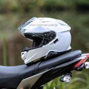 Capacete Shoei GT-Air 2 Branco com Pinlock Anti-Embaçante