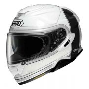 Capacete Shoei GT-Air 2 Crossbar TC-6 Branco/Preto Com Pinlock Anti-Embaçante