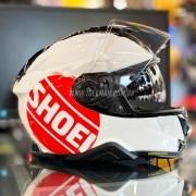 Capacete Shoei GT-Air 2 Emblem TC-1 Preto/Branco/Vermelho Com Pinlock Anti-Embaçante