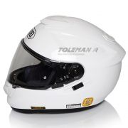 Capacete Shoei GT-Air Branco c/ Pinlock Anti-Embaçante - C/ Vídeo