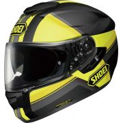 Capacete Shoei GT-Air Exposure Black/Yellow TC-3 c/ Pinlock Anti-Embaçante - COMPRE JUNTO BALACLAVA