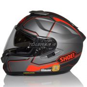 Capacete Shoei GT-Air Pendulum TC-10 Cinza C/ Pinlock Anti-Embaçante - BlackOferta - Só 56