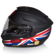 Capacete Shoei GT-Air Royalty TC-1 Preto/Vm/AZ C/ Pinlock - BlackOferta - Só 56 e 64