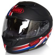 Capacete Shoei GT-Air Royalty TC-1 Preto/Vm/AZ C/ Pinlock