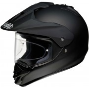 Capacete Shoei Hornet DS Matt Black (fosco) (Big Trail e On-Road)