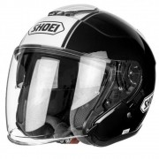 Capacete Shoei J-Cruise Corso Black/White TC-5 Aberto - Blackfriday