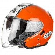 Capacete Shoei J-Cruise Corso Orange/Black TC-8 Aberto - Pronta Entrega
