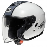 Capacete Shoei J-Cruise Corso White/Silver TC-6 - Aberto - BlackFriday