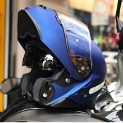 Capacete Shoei Neotec 2 Azul Fosco Escamoteável - PRONTA ENTREGA