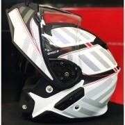 Capacete Shoei Neotec 2 Splicer TC-6 vermelho Escamoteável - NOVO!