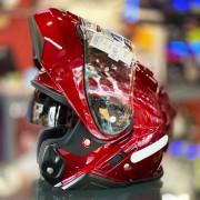 Capacete Shoei Neotec 2 Vermelho Escamoteável - PRONTA ENTREGA