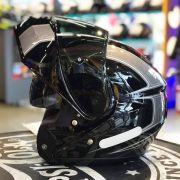 Capacete Shoei Neotec Borealis TC-5 Cinza Escamoteável/Articulado - Só 62 - Motociclista