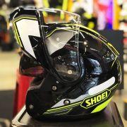 Capacete Shoei Neotec Imminent TC-3 Amarelo Escamoteável - Semana do Motociclista