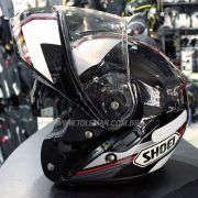 Capacete Shoei Neotec Imminent TC-5 Escamoteável Com Vídeo - BLACK FRIDAY