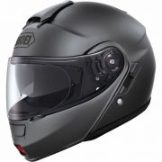 Capacete Shoei Neotec Matt Deep Grey (Escamoteável) Com Vídeo! - Semana do Motociclista
