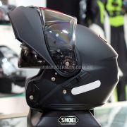 Capacete Shoei Neotec Preto Fosco Escamoteável COM VÍDEO  - BlackOferta