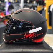 Capacete Shoei NXR Flagger TC-1 Vermelho - Só XL/62 - Semana do Motociclista