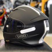 Capacete Shoei NXR Flagger TC-5 Preto C/ Branco - Semana do Motociclista