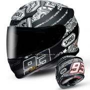 Capacete Shoei NXR Marc Marquez Digi Anthracite TC-5 - Com Vídeo - BLACK FRIDAY