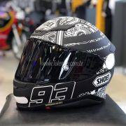 Capacete Shoei NXR Marc Marquez Digi Anthracite TC-5 - Com Vídeo - Mês do Motociclista