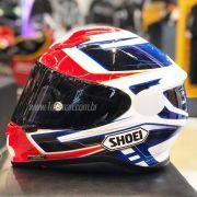 Capacete Shoei NXR Valkyrie Azul TC-1 - COM VÍDEO - Semana do Motociclista