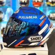 Capacete Shoei X-Spirit 3 Alex Marquez AM73 Azul - X-Fourteen - X-Spirit III - Esportivo