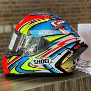 Capacete Shoei X-Spirit III Daijiro Kato TC-1 Replica - X-Fourteen