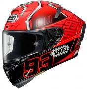 Capacete Shoei X-Spirit III Marc Marquez Replica - X-Fourteen -  NOVO C/ VÍDEO