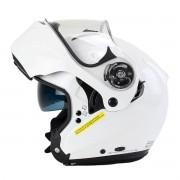 Capacete X-Lite X-1004 Elegance Branco Articulado/Escamoteável (GANHE TOUCA BALACLAVA X-LITE)