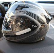 Capacete X-Lite X-661 Extreme Titan-Tech Puro Verdon (GANHE TOUCA BALACLAVA X-LITE)