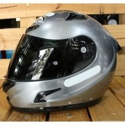Capacete X-Lite X-802RR Ultra Carbon Start Scratched Chrome - C/ VÍDEO! (GANHE TOUCA BALACLAVA X-LITE)